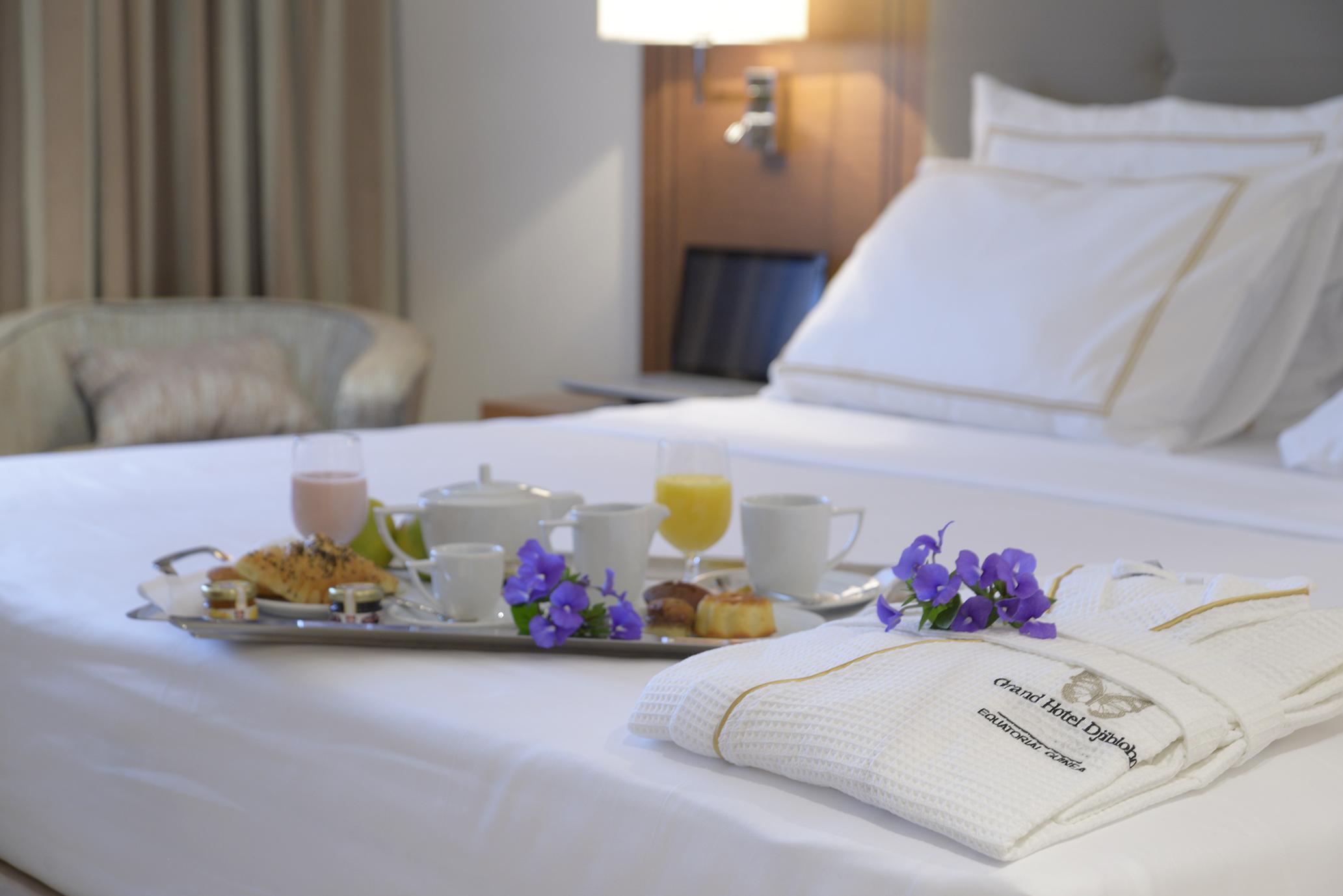 Deluxe Room Grand Hotel Djibloho